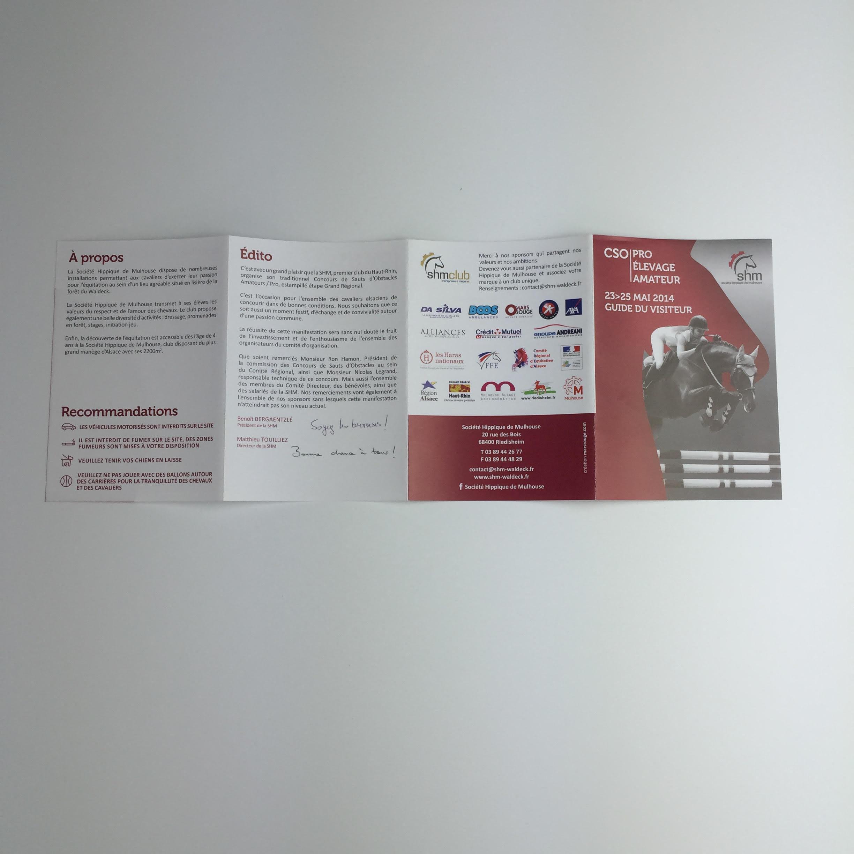 Dépliants standard 3 plis