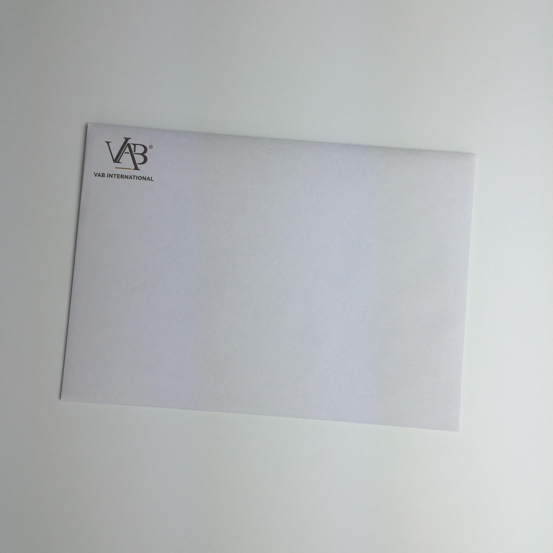 Enveloppes impression totale