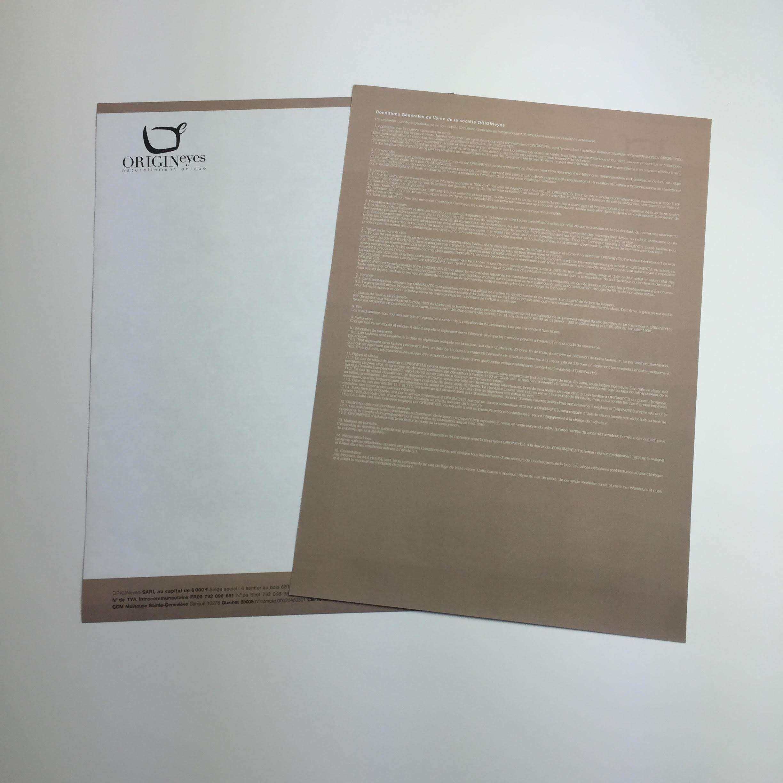 Papier à lettres 100g