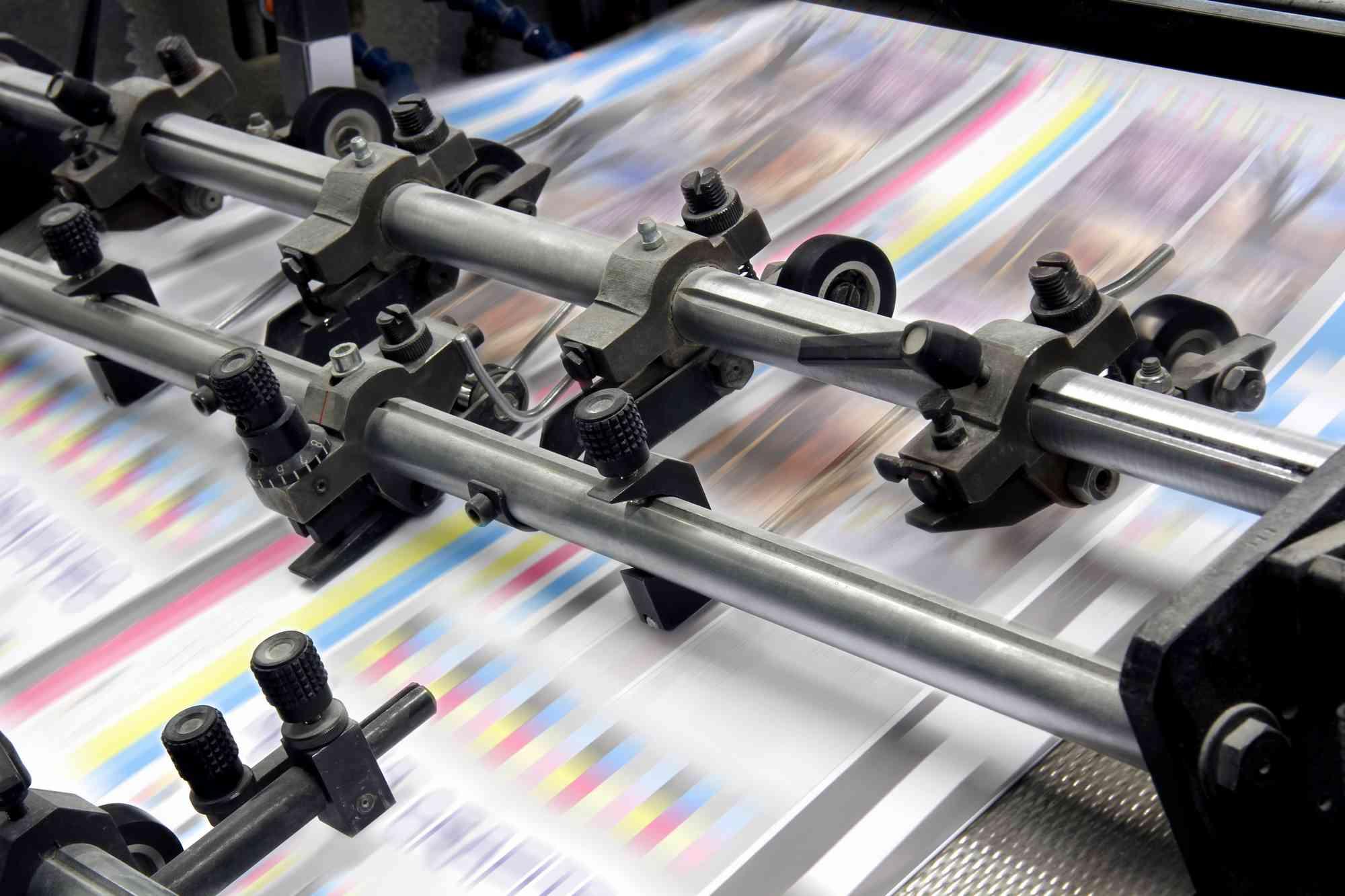 Le vernis sélectif en imprimerie