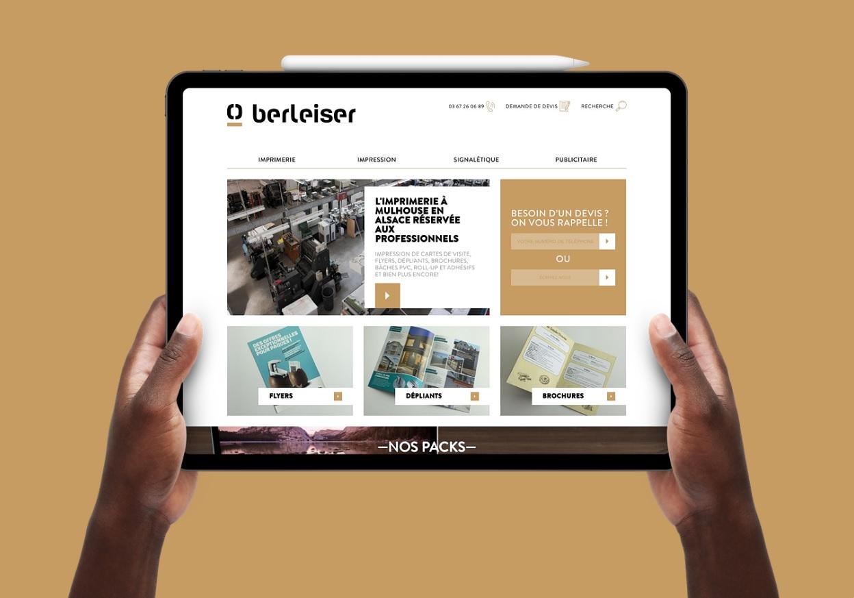 Berleiser, imprimerie à Mulhouse